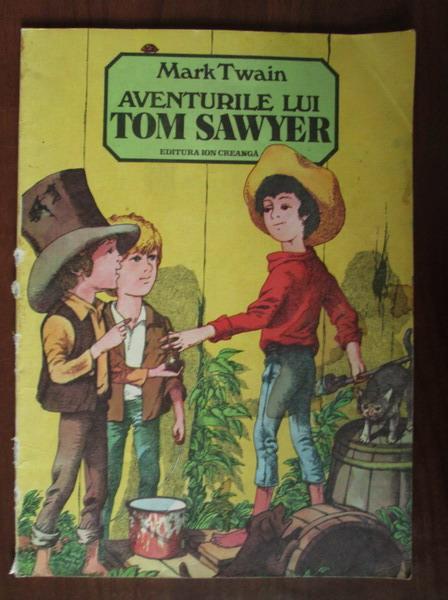 Anticariat: Mark Twain - Aventurile lui Tom Sawyer (format mare, ilustrata)