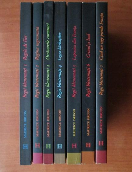 Anticariat: Maurice Druon - Regii blestemati (volumele 1, 2, 3, 4, 5, 6, 7)
