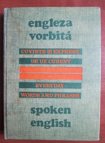 Anticariat: Maxim Popp - Engleza vorbita. Cuvinte si expresii de uz curent