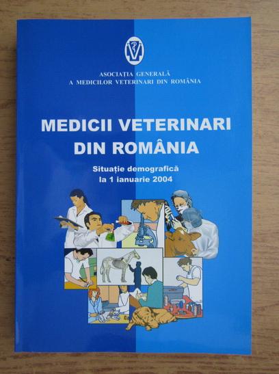 Anticariat: Medicii veterinari din Romania