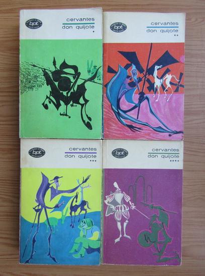 Anticariat: Miguel de Cervantes - Don Quijote (4 volume)