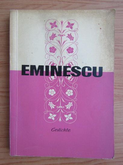 Anticariat: Mihai Eminescu - Gedichte