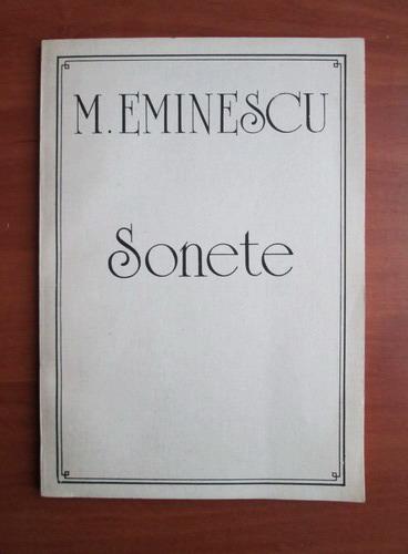Anticariat: Mihai Eminescu - Sonete