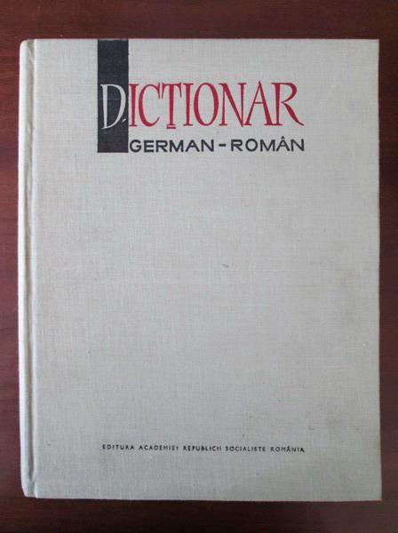 Anticariat: Mihai Isbasescu - Dictionar German-Roman (140.000 de cuvinte)