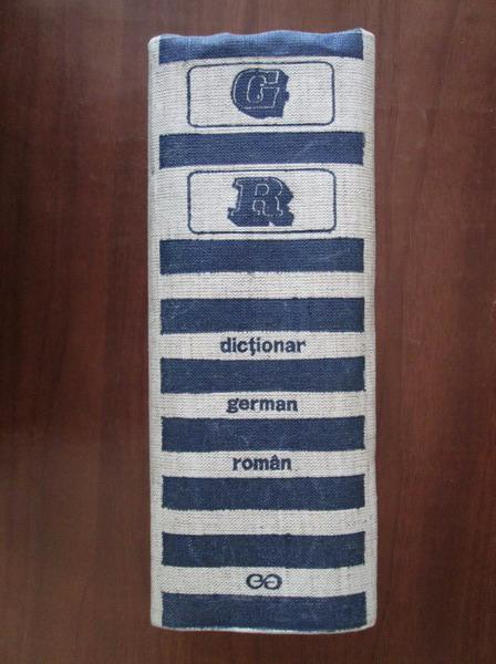 Anticariat: Mihai Isbasescu - Dictionar German-Roman