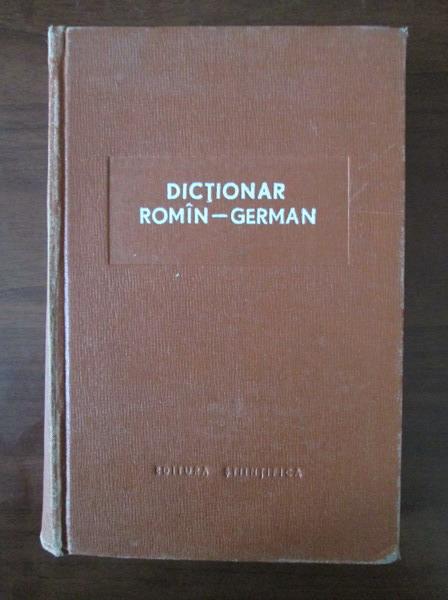 Anticariat: Mihai Isbasescu - Dictionar Roman-German