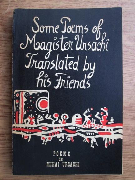 Anticariat: Mihai Ursachi - Poeme. Poems (editie bilingva romana-engleza)