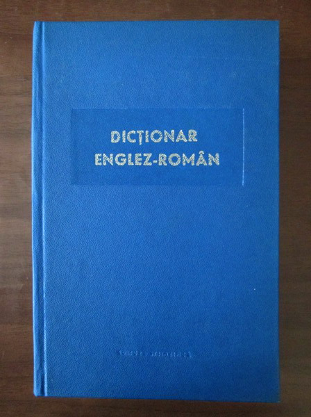 Anticariat: Mihail Bogdan - Dictionar Englez-Roman