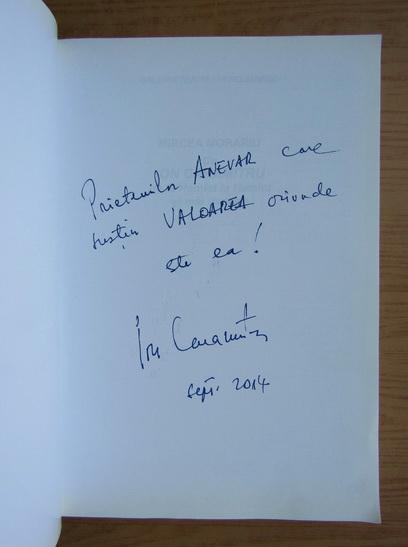 Anticariat: Mircea Morariu - Cu Ion Caramitru de la Hamlet la Hamlet si mai departe (cu autograful actorului)