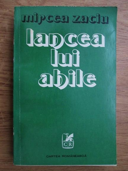 Anticariat: Mircea Zaciu - Lancea lui Ahile