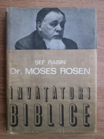 Anticariat: Moses Rosen - Invataturi biblice
