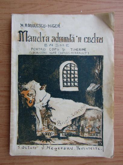 Anticariat: N. Radulescu Niger - Mandra adormita in codru (1926)
