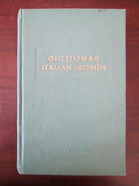 Anticariat: Nina Facon - Dictionar Italian-Roman