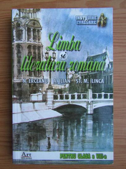 Anticariat: Ninusa Erceanu - Limba si literatura romana