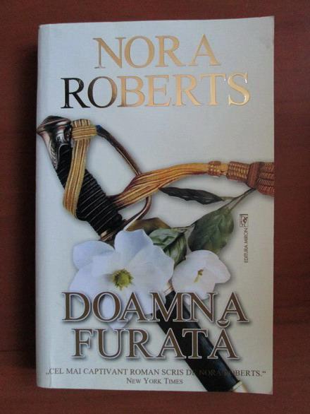 Anticariat: Nora Roberts - Doamna furata