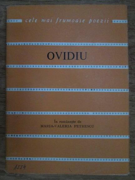 Anticariat: Ovidiu (Cele mai frumoase poezii)