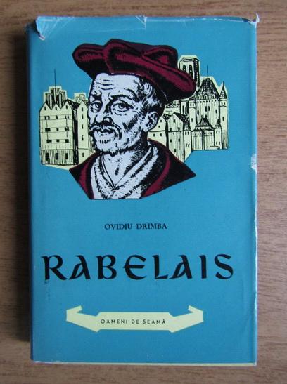 Anticariat: Ovidiu Drimba - Rabelais