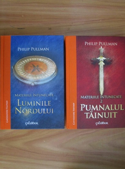 Anticariat: Philip Pullman - Luminile nordului. Materiile intunecate (2 volume)