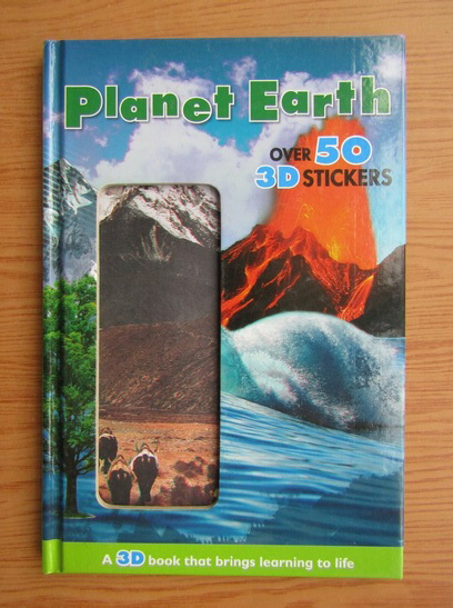 Anticariat: Planet earth over 50 3D stickers