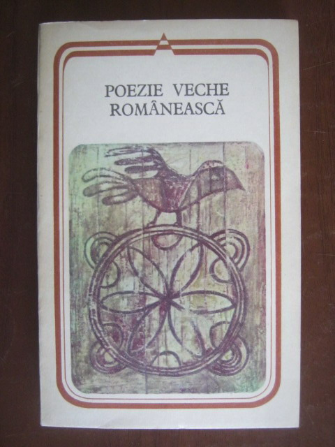 Anticariat: Poezie veche romaneasca