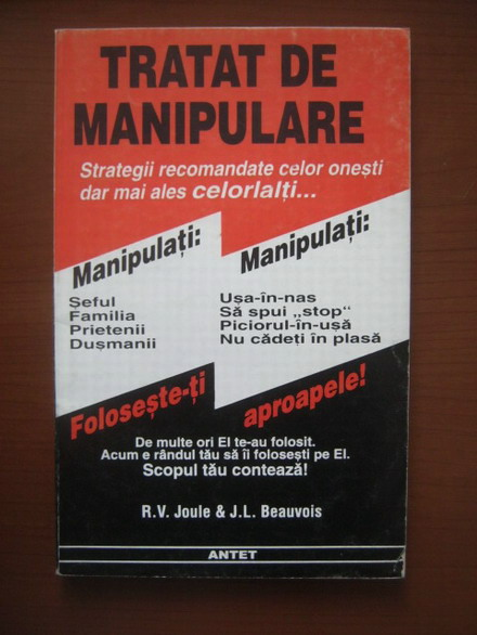 Anticariat: R. V. Joule - Tratat de manipulare