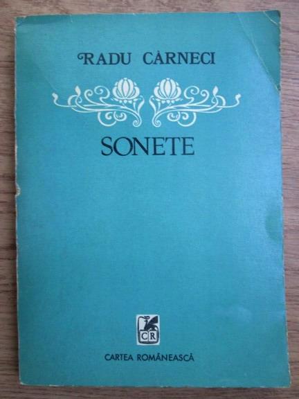 Anticariat: Radu Carneci - Sonete
