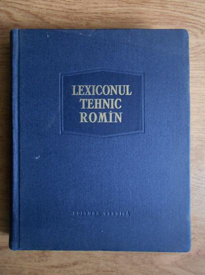 Anticariat: Remus Radulet - Lexiconul tehnic roman (volumul 5, Colb-Cy)