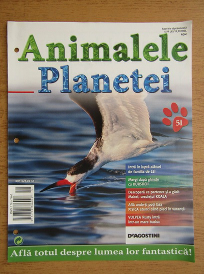 Anticariat: Revista Animalele planetei, nr. 51