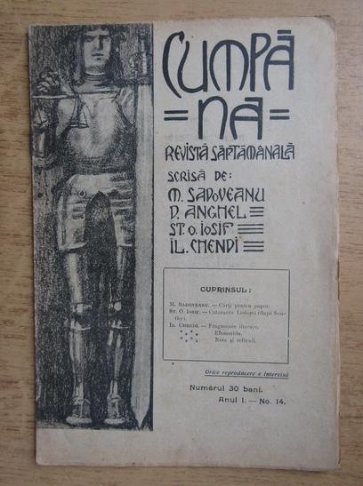 Anticariat: Revista Cumpana, anul I, nr. 14, 1910