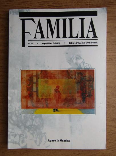 Anticariat: Revista de cultura, Familia, nr. 4, aprilie 2009