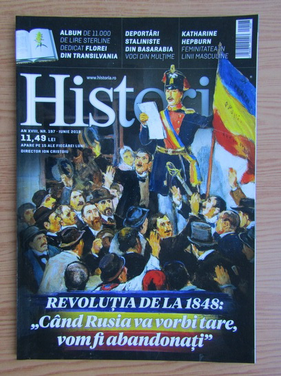 Anticariat: Revista Historia, anul XVIII, nr. 197, iunie 2010