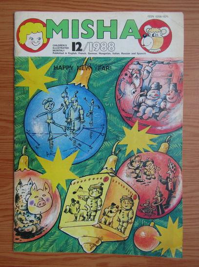 Anticariat: Revista Misha, nr. 12, 1988