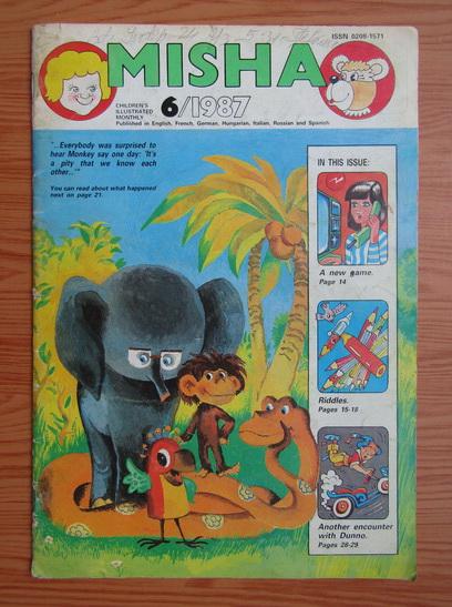 Anticariat: Revista Misha, nr. 6, 1987