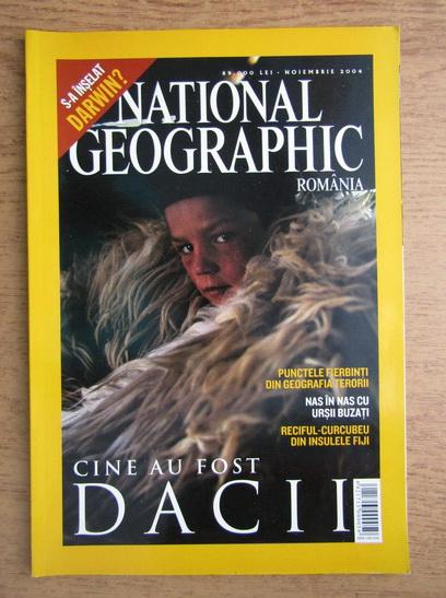 Anticariat: Revista National Geographic, noiembrie 2004