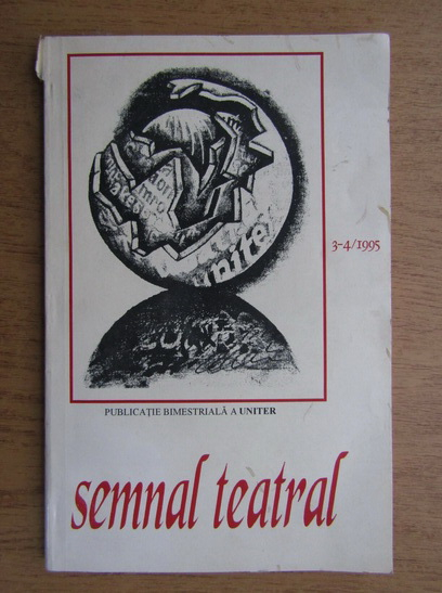 Anticariat: Revista Semnal teatral, nr 3-4, 1995
