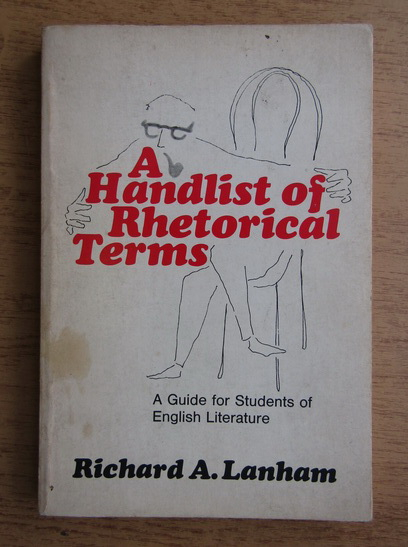 Anticariat: Richard A. Lanham - A handlist of rhetorical terms