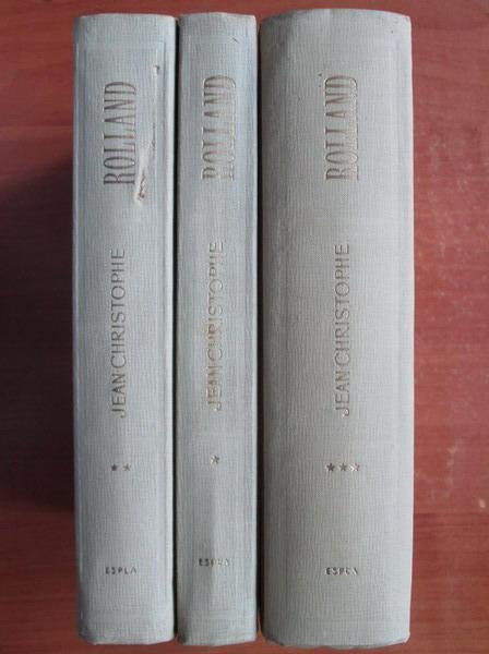 Anticariat: Romain Rolland - Jean Christophe (3 volume, coperti cartonate)