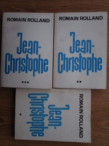 Anticariat: Romain Rolland - Jean Christophe (3 volume)