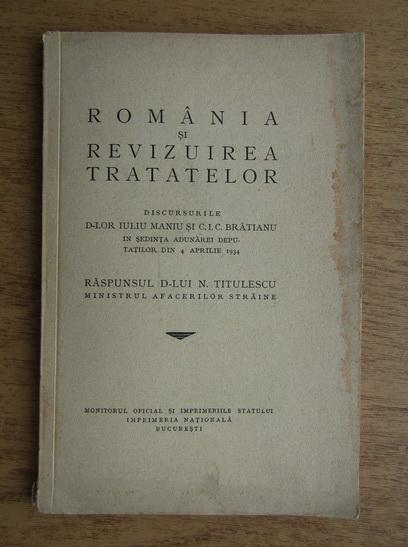 Anticariat: Romania si revizuirea tratatelor