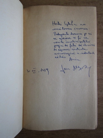 Anticariat: Sen Alexandru - Visul lui Pestalozzi (cu autograful autorului)