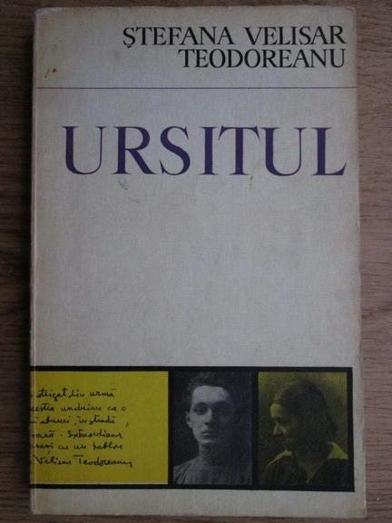 Anticariat: Stefana Velisar Teodoreanu - Ursitul