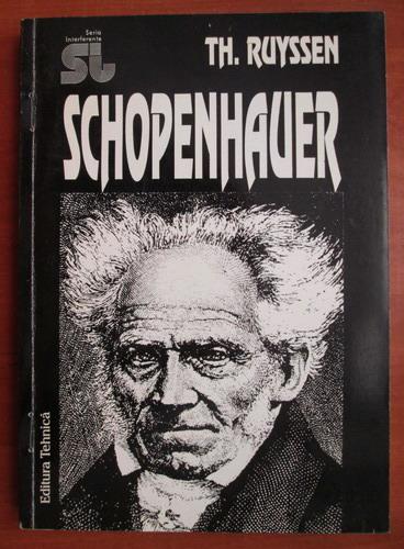 Anticariat: Th. Ruyssen - Schopenhauer