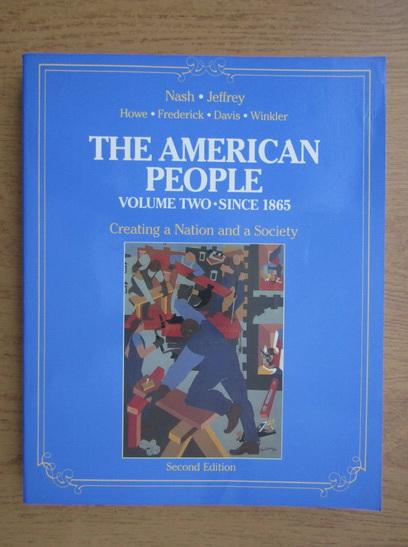 Anticariat: The american people (volumul 2)