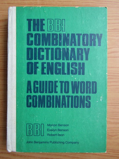 Anticariat: The BBI combinatory dictionary of english