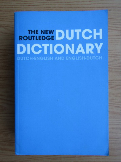 Anticariat: The new dutch dictionary