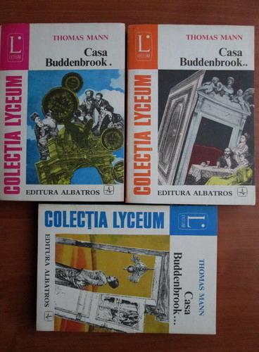 Anticariat: Thomas Mann - Casa Buddenbrook (3 volume)