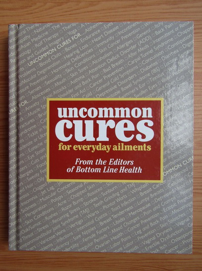 Anticariat: Uncommon cures for everyday ailments