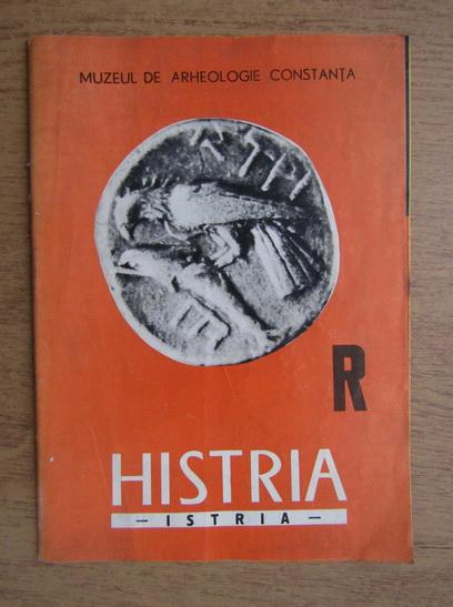 Anticariat: Vasile Canarache - Histria