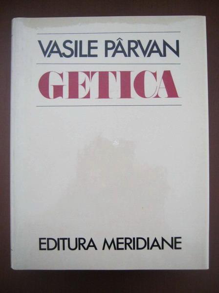 Anticariat: Vasile Parvan - Getica
