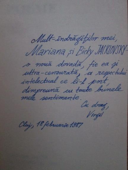 Anticariat: Virgil Mihaiu - Poeme (cu autograful autorului)